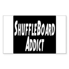 Shuffleboard Addict Decal