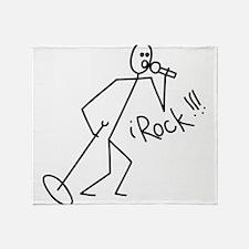 iRock Stick Man singing Mic Microphone Stadium Bl
