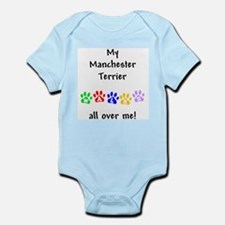 Manchester Terrier Walks Infant Creeper