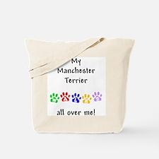 Manchester Terrier Walks Tote Bag