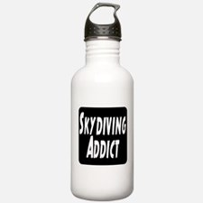 Skydiving Addict Water Bottle