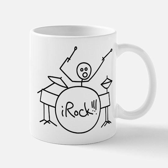 iRock Stick Man Playing Drums Mug