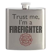 Trust Me Im a Firefighter Flask