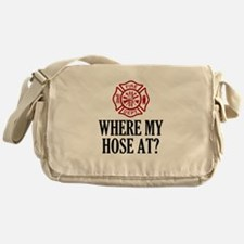 Where My Hose At? Messenger Bag