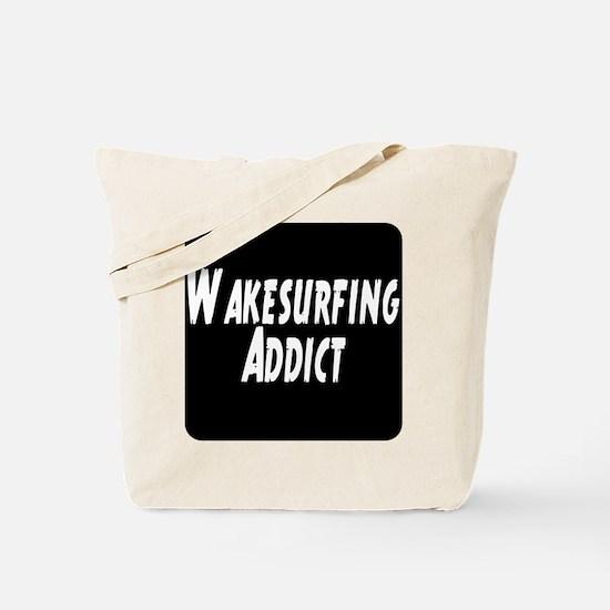 Wakesurfing addict Tote Bag