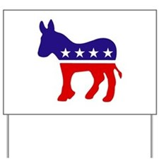 Democrat Party Donkey Yard Sign