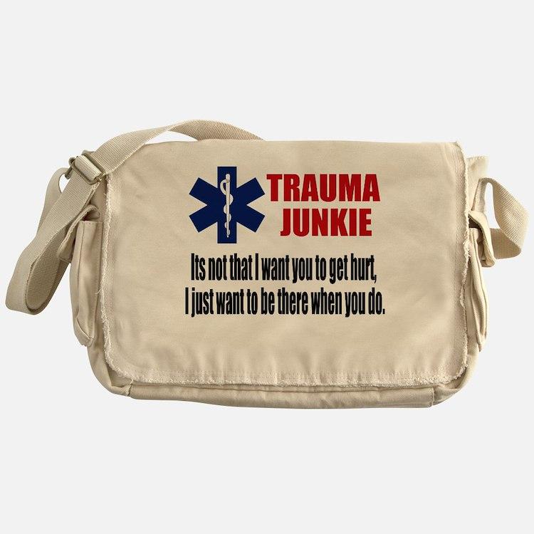 Trauma Junkie Messenger Bag
