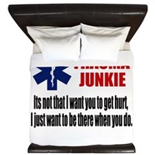 Trauma Junkie King Duvet