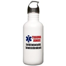 Trauma Junkie Water Bottle
