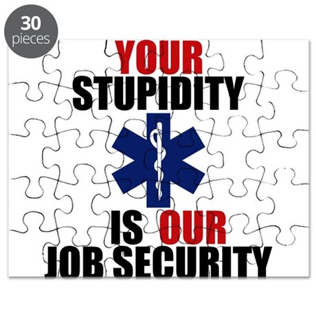 Your Stupidity is my Job Security Puzzle