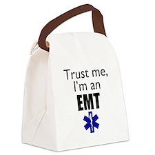 Trust me Im an EMT Canvas Lunch Bag