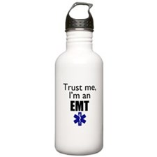 Trust me Im an EMT Water Bottle