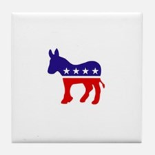 Democrat Party Donkey Tile Coaster