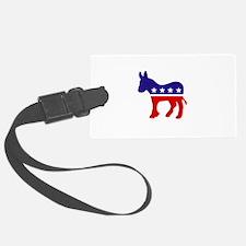 Democrat Party Donkey Luggage Tag