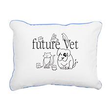 future Vet Rectangular Canvas Pillow