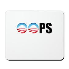 Obama OOPs Mousepad