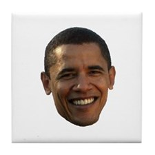Obama Head Tile Coaster