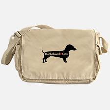Dachshund Mom Messenger Bag