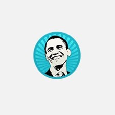 Obama Smile Mini Button