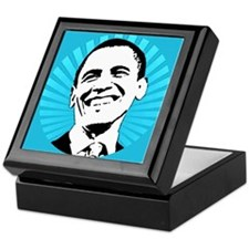Obama Smile Keepsake Box
