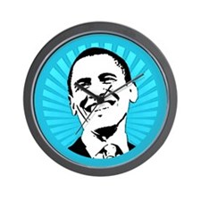 Obama Smile Wall Clock