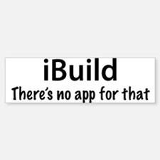 iBuild Sticker (Bumper)