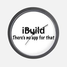 iBuild Wall Clock