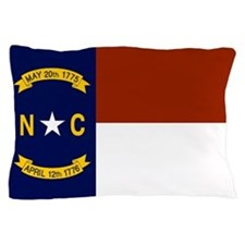 North Carolina State Flag Pillow Case