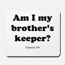Genesis 4:9 Mousepad