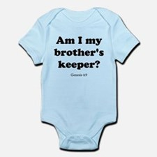 Genesis 4:9 Infant Bodysuit