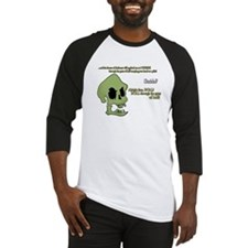 Murray, the evil demonic talking skull! Baseball J