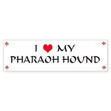Pharaoh Hound Bumper Bumper Sticker