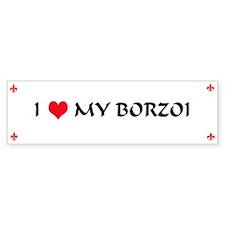 Borzoi Bumper Bumper Sticker