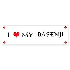 Basenji Bumper Bumper Sticker