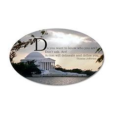 Thomas Jefferson wisdom Wall Decal