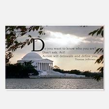 Thomas Jefferson wisdom Postcards (Package of 8)