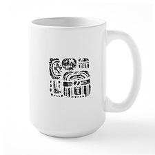 Tikal Emblem Glyph Mug