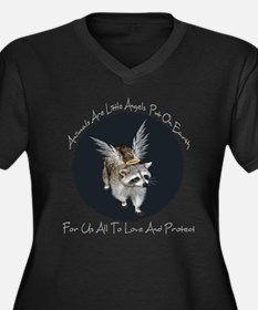 Animals Are Little Angels Women's Plus Size V-Neck