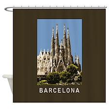 Barcelona Sagrada Familia Shower Curtain