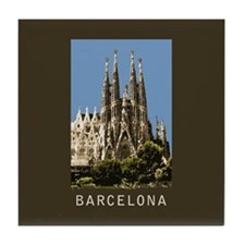 Barcelona Sagrada Familia Tile Coaster