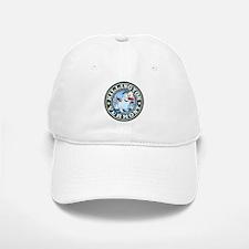 Killington Snowman Circle Baseball Baseball Cap