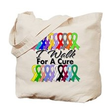 Cancer I Walk For A Cure Tote Bag