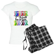 Cancer I Walk For A Cure Pajamas