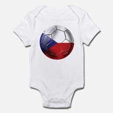 Czech Republic Soccer Infant Bodysuit