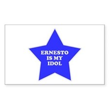 Ernesto Is My Idol Rectangle Decal