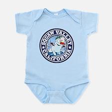 Squaw Valley Snowman Circle Infant Bodysuit