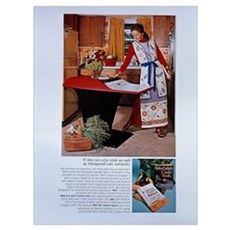 Honeywell Kitchen Computer Poster