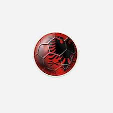 Albanian Football Mini Button