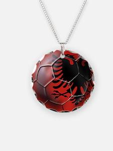 Albanian Football Necklace