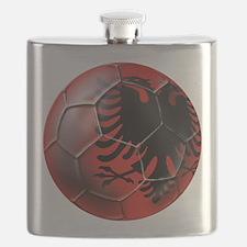Albanian Football Flask